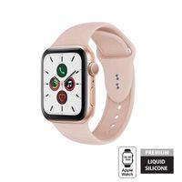 Crong Liquid Band - Pasek do Apple Watch 38/40 mm (piaskowy róż)