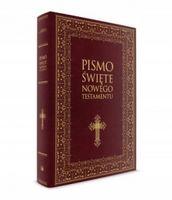 Nowy testament biblia pismo święte duże litery !