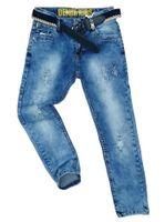 JEANSY spodnie elastyczne ESCAPE 8 ok. 122/128