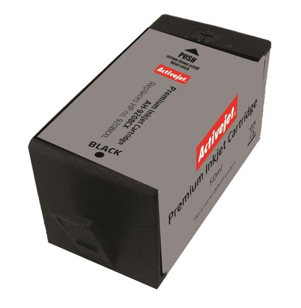 Tusz Activejet AH-920BCX (zamiennik HP 920XL CD975AE; Premium; 50 ml; czarny) na Arena.pl