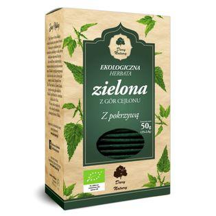 Herbata Zielona z Pokrzywą Eko 25x2g Dary Natury