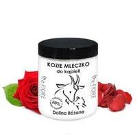 e-FIORE Kozie mleko do kąpieli z kolagenem i pantenolem 400g - Dolina Różana