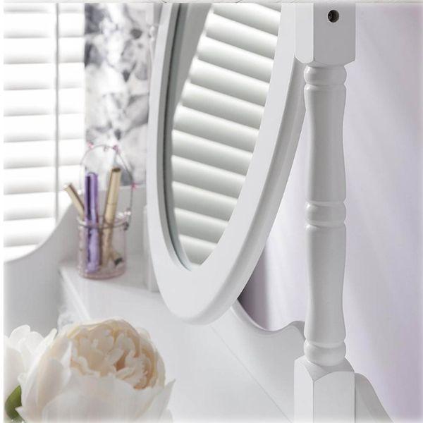 Toaletka Kosmetyczna Duże Lustro + Hoker 001 zdjęcie 5