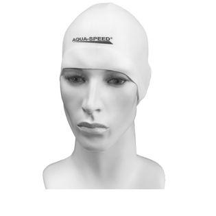 Czepek pływacki treningowy RACER Kolor - Czepki - Racer - 05 - biały