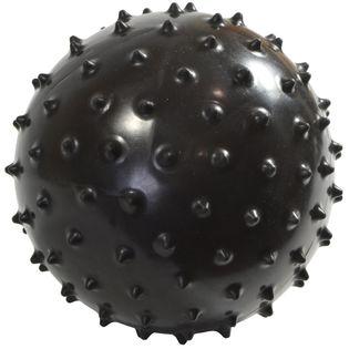 Piłka fitness do masażu 13cm czarna EB FIT