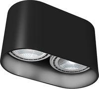 NOWODVORSKI OVAL BLACK 9240 lampa sufitowa