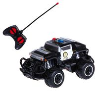 PEPCO - autko terenowe 1:43 RC policyjne, czarne