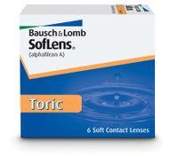 Soczewki B+L SofLens Toric, 6 szt. + 1szt. gratis