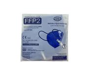 Maseczka ochronna FFP2 CE 1szt niebieska