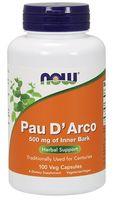 NOW FOODS Pau D'Arco 100kap wege La Pacho