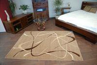 Dywan KARMEL CHOCO orzech  120x170 cm brąz