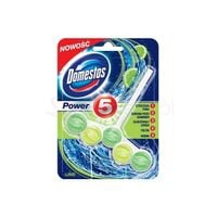 DOMESTOS Power 5 Lime Green 55g - zawieszka toaletowa