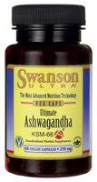 Ashwagandha KSM-66 250mg ekstrakt 60 kapsułek SWANSON