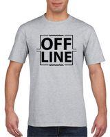 Koszulka męska Offline S Szary