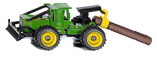 SIKU Traktor John Deere Skidder zdjęcie 1