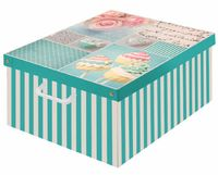 Pudełko Dekoracyjne Kartonowe Maxi Bon Bon