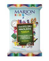 Marion Kids Chusteczki Nawilżane Szkolne Do Plecaka O Zapachu Gumy Balonowej 10Szt