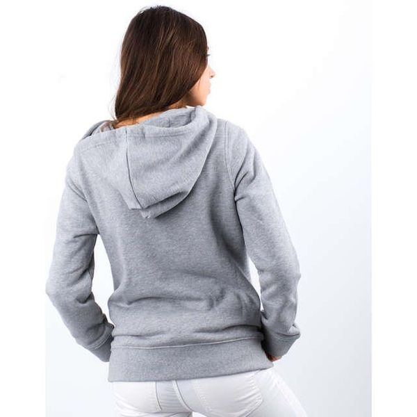 BLUZA ADIDAS TREFOIL HOODIE MEDIUM GREY HEATHER (CY6665) 32 Medium Grey Heather