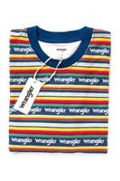 WRANGLER ALLOVER SWEAT BLUE DEPTHS W6A9INXJY XL
