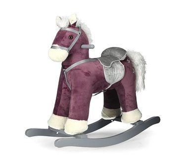 Koń na biegunach PePe Purple Milly Mally 2203