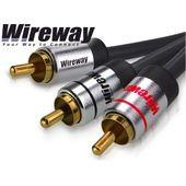 Kabel 1RCA-2RCA typu Y - Wireway 10m Kolor - 10m