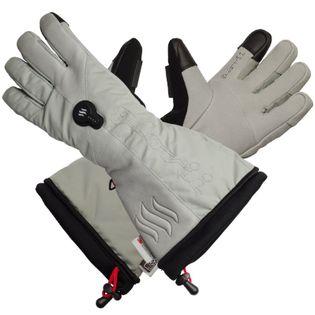GLOVII, GS8M,  ogrzewane rękawice narciarskie z baterią i ładowarką w zestawie, rozmiar: M