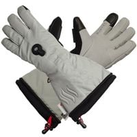 GLOVII, GS8L,  ogrzewane rękawice narciarskie z baterią i ładowarką w zestawie, rozmiar: L