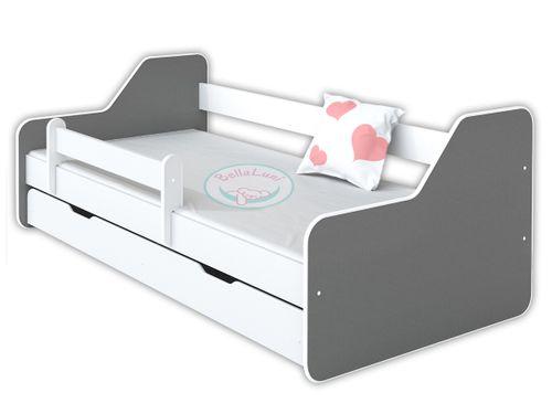 Łóżko dla dzieci DIONE II 160x80 - szare na Arena.pl