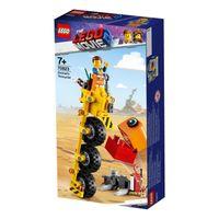 LEGO 70823 LEGO PRZYGODA 2 TRÓJKOŁOWIEC EMMETA