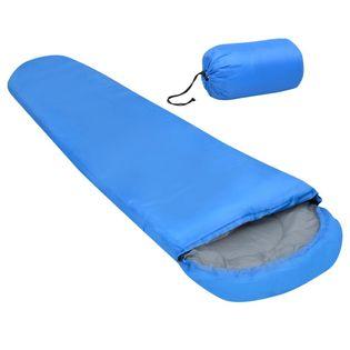 Lumarko Lekki śpiwór, niebieski, 15℃, 850g!