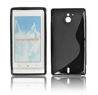 MOCNE_ etui S-LINE DELUX_ SONY MT27i Xperia Sola