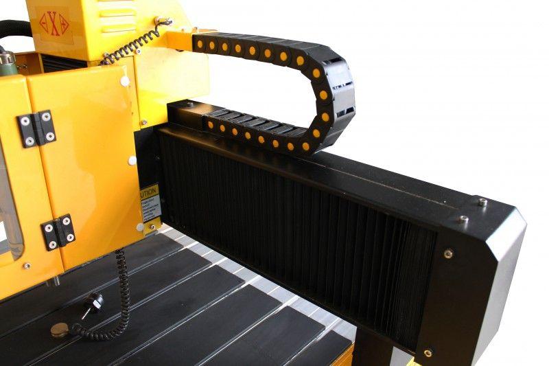FREZARKA PLOTER CNC 6090 GRAWERKA 3kW z170mm MACH3 zdjęcie 14