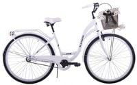 (K25) Rower miejski damski Kozbike 28 biały