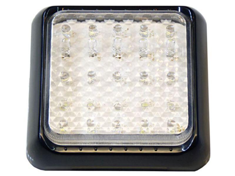 mocna Lampa 25 LED 10x10 cm oświetlenie wnętrza kabina Jacht Paka TIR na Arena.pl
