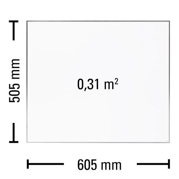 Płytowy promiennik podczerwieni 300 W panel grzewczy TIH 300 S TROTEC na Arena.pl