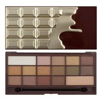 I Heart Makeup Palette Zestaw cieni do powiek Chocolate Golden Bar 22g (16 kolorów)