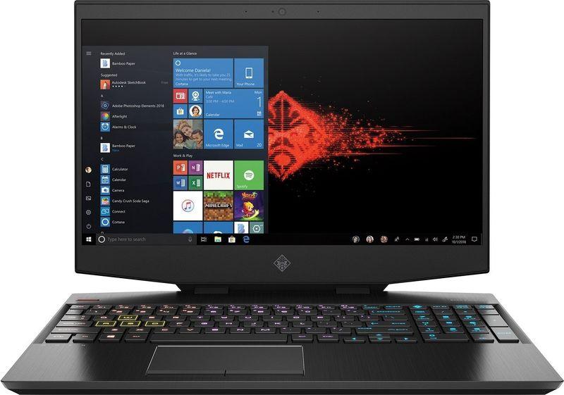 HP OMEN 15 FullHD IPS 144Hz Intel Core i7-9750H 6-rdzeni 16GB DDR4 256GB SSD NVMe 1TB HDD NVIDIA GeForce RTX 2060 6GB Windows 10 na Arena.pl