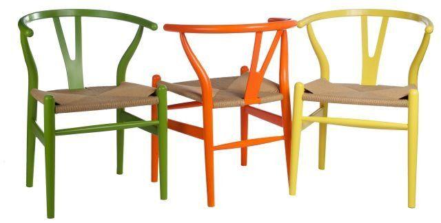 Krzesło Wicker Color zielone zdjęcie 3