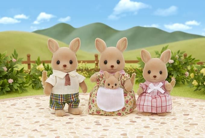 Sylvanian Families Rodzina kangurków zdjęcie 2
