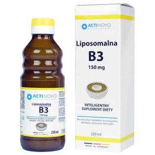 Liposomalna witamina B3 150mcg 50 porcji 250ml ActiNovo