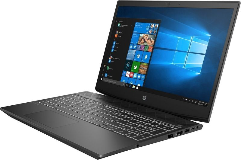 HP Pavilion Gaming 15 FullHD IPS Intel Core i7-8550U 8GB 128GB SSD NVMe 1TB HDD NVIDIA GeForce GTX 1050 2GB Windows 10 zdjęcie 4