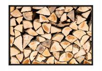OBRAZ PLAKAT W RAMIE 33x43 cm Drewno P744,