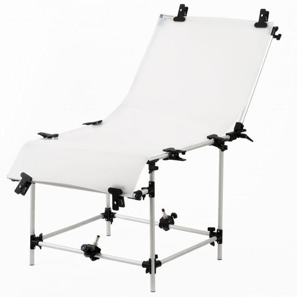 Stół bezcieniowy 60x130cm + 2 Imadła z trzpieniem zdjęcie 1