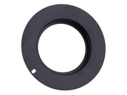 Adapter bagnetowy M42 do aparatu Canon EOS BLOKADA BOLCA PRZYSŁONY