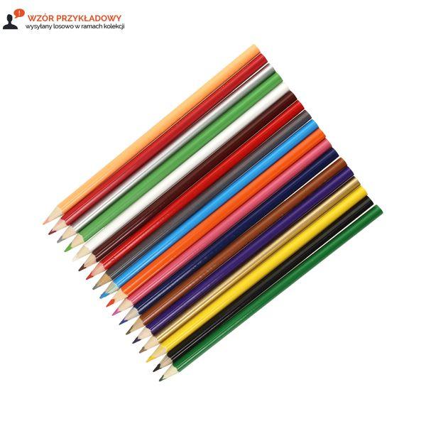 Kredki ołówkowe 18 kolorów 18cm Bambino zdjęcie 3