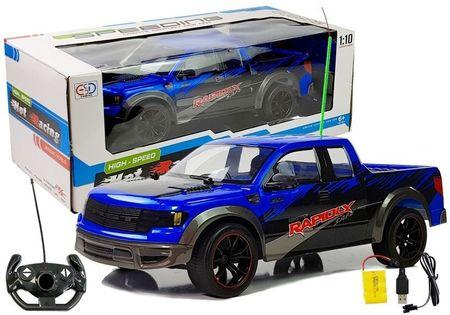 Zdalnie Sterowane Autko Pick Up 1:10 Niebieski R/c