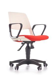 Jumbo Halmar młodzieżowy fotel obrotowy na podstawie jezdnej