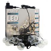 Lampki ogrodowe LED girlanda do pomieszczeń WARM
