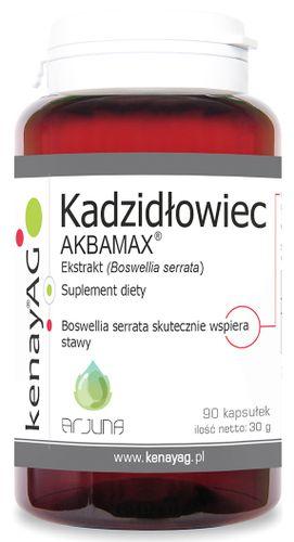BOSWELLIA EKSTRAKT 10% KADZIDŁOWIEC AKBAMAX  KENAY na Arena.pl