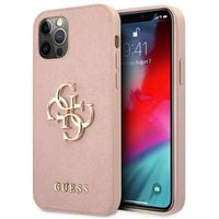 Etui do iPhone 12, iPhone 12 Pro, Case, Plecy, GUESS
